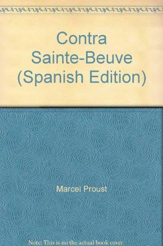 9789871210404: Contra Sainte-Beuve