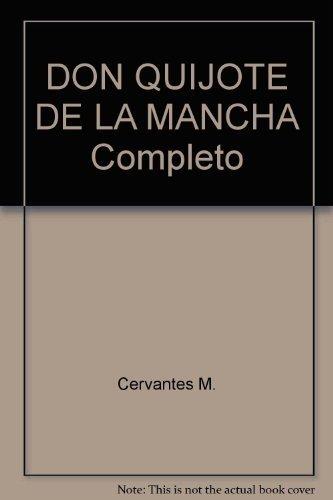 9789871269075: DON QUIJOTE DE LA MANCHA Completo