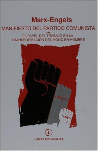 9789871290024: Manifiesto del Partido Comunista (Spanish Edition)
