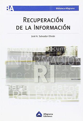 RECUPERACION DE LA INFORMACION: SALVADOR OLIVAN, JOSE ANTONIO