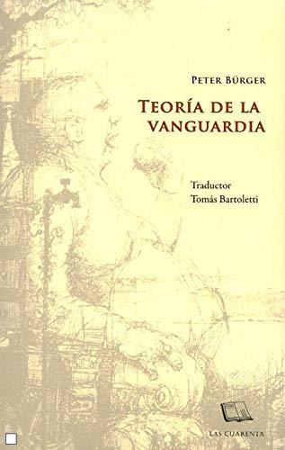 9789871501205: Teoría de la vanguardia