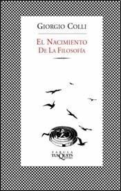 9789871544875: NACIMIENTO DE LA FILOSOFIA, EL (B) (Spanish Edition)