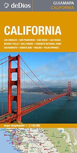 9789871551439: CALIFORNIA - GUIA MAPA DE DIOS (Spanish Edition)