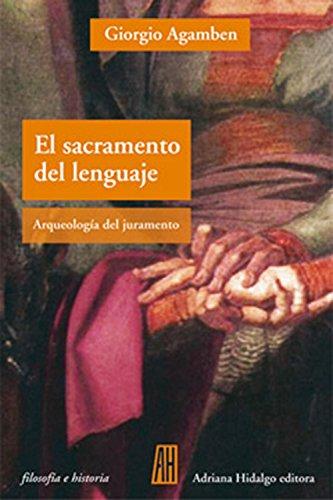 9789871556304: El Sacramento Del Lenguaje (Spanish Edition)