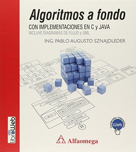 9789871609376: Algoritmos A Fondo - Con Implementaciones En C Y Java (Spanish Edition)