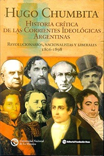 Historia crítica de las corrientes ideológicas argentinas: HUGO CHUMBITA