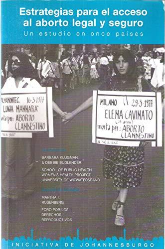 9789872003104: Estrategias para el Acceso al Aborto Legal y Seguro