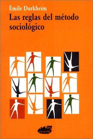 9789872029500: Las Reglas del Metodo Sociologico