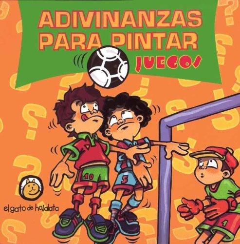 9789872066178: Juegos Adivinanzas Para Pintar (Spanish Edition)