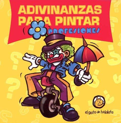 9789872066185: Profesiones Adivinanzas Para Pintar (Spanish Edition)