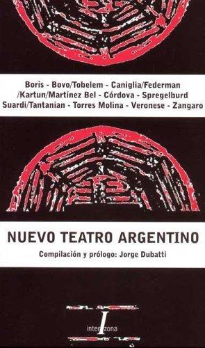 9789872067755: Nuevo Teatro Argentino (Spanish Edition)