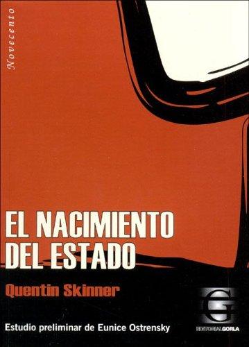 9789872077310: El Nacimiento del Estado (Spanish Edition)