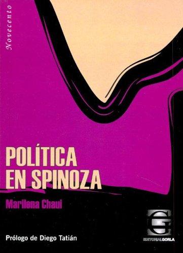 9789872077358: Politica En Spinoza (Spanish Edition)