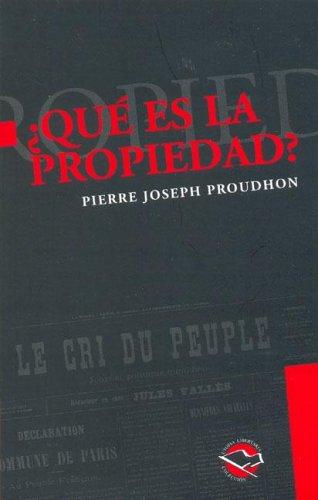 9789872087593: Que Es La Propiedad?