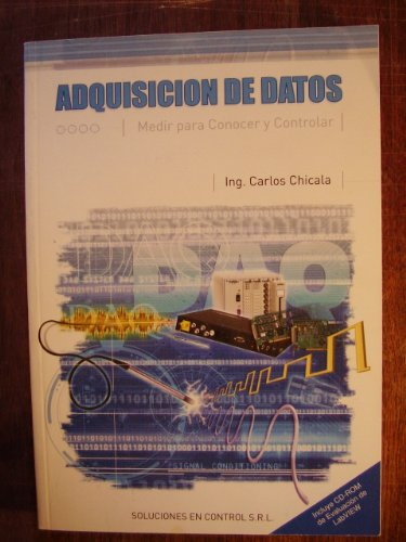 9789872096014: Adquisicion De Datos: Medir Para Conocer Y Controlar