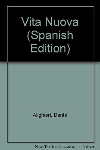 9789872149352: Vita Nuova (Spanish Edition)