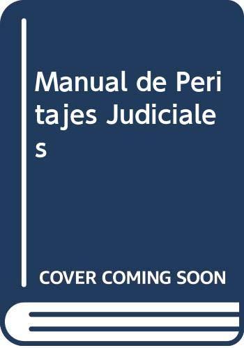 9789872178963: Manual de Peritajes Judiciales