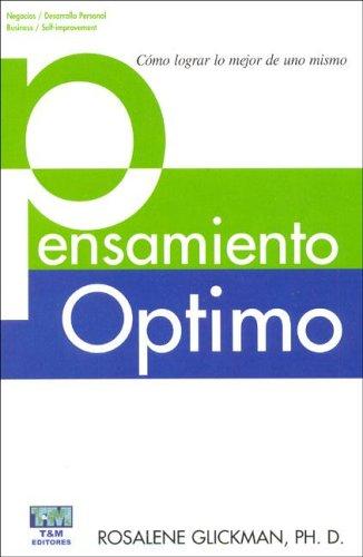 9789872190712: Pensamiento Optimo (Spanish Edition)
