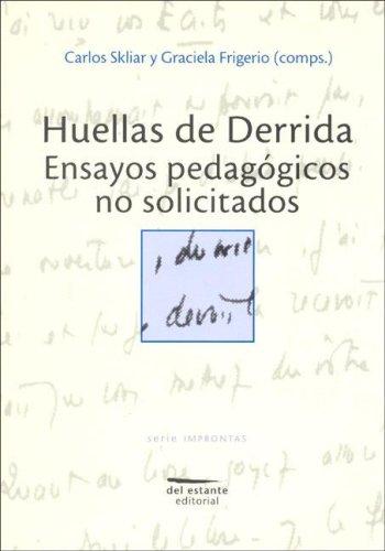 9789872195427: Huellas de Derrida (Spanish Edition)
