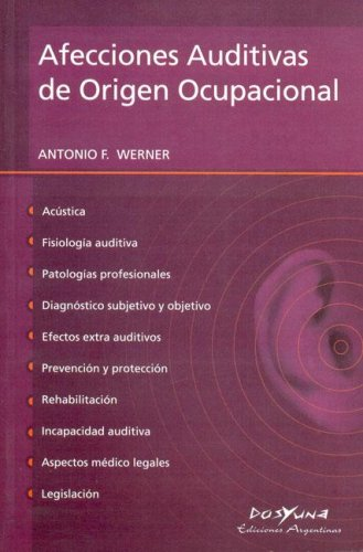 9789872205966: Afecciones Auditivas de Origen Ocupacional (Spanish Edition)