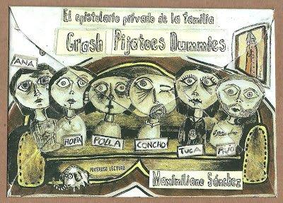9789872892708: El epistolario privado de la familia Crash-Pijatoes-Dummies