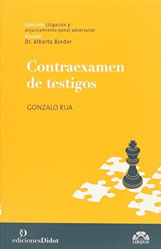 9789873620041: CONTRAEXAMEN DE TESTIGOS