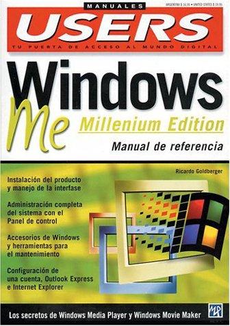 Windows ME (Millennium Edition) Manual de Referencia: MP Ediciones, Ricardo