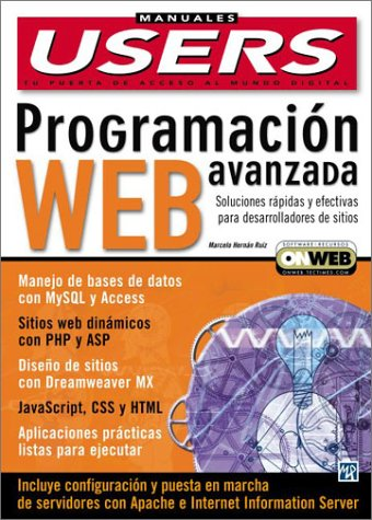 9789875261150: Programacion Web Avanzada: Manuales Users, en Espanol / Spanish (Manuales Users, 42) (Spanish Edition)