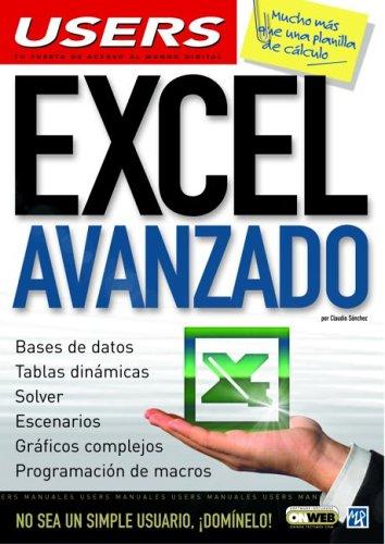 9789875262409: Excel Avanzado (Manuales users)