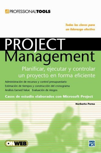 9789875263192: PROFESSIONAL TOOLS: PROJECT MANAGEMENT: Espanol, Manual Users, Manuales Users (Spanish Edition)