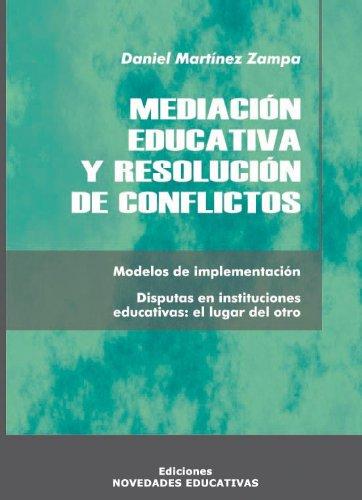 9789875381438: Mediacion Educativa y Resolucion de Conflictos