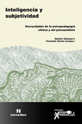 9789875381834: Inteligencia y Subjetividad (Spanish Edition)