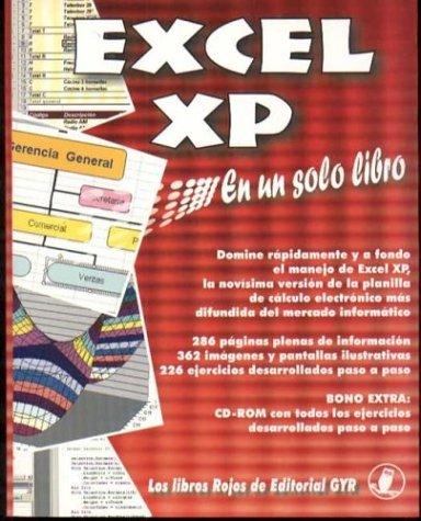 Excel XP En Un Solo Libro -: Gabriel Strizinec