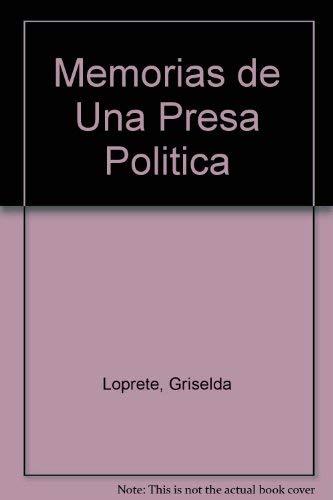9789875453715: Memorias de Una Presa Politica (Spanish Edition)