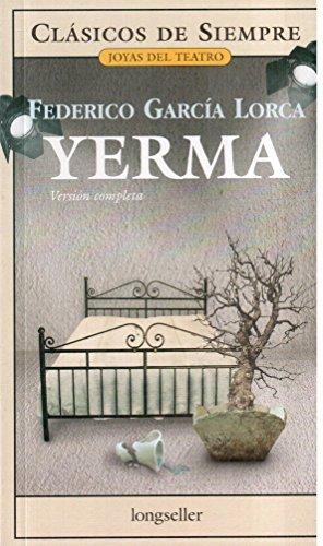 9789875504158: Yerma (Clasicos De Siempre / Always Classics) (Spanish Edition)