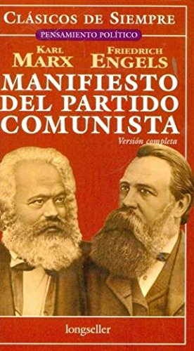 9789875507401: Manifiesto del partido comunista (Spanish Edition)