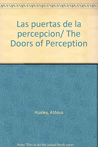 9789875662957: Las puertas de la percepcion/ The Doors of Perception (Spanish Edition)