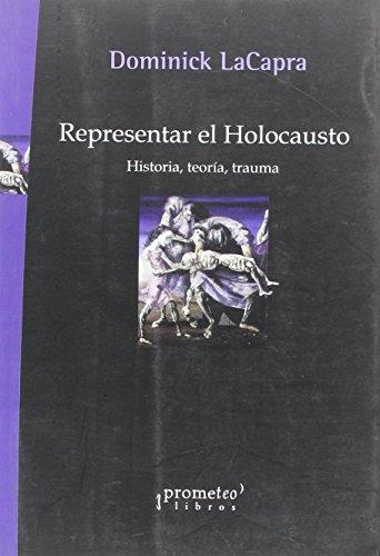 9789875742581: Representar el Holocausto