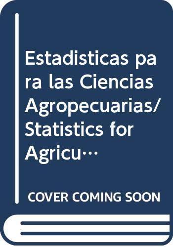 9789875911123: Estadisticas para las Ciencias Agropecuarias/ Statistics for Agricultural Sciences (Spanish Edition)