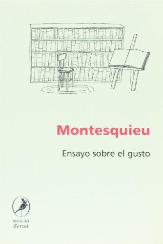 9789875990050: Ensayo sobre el gusto (Spanish Edition)