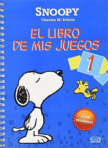 Snoopy el libro de mis juegos/ Snoopy The Book of My Games: Color azul/ Blue (Spanish ...