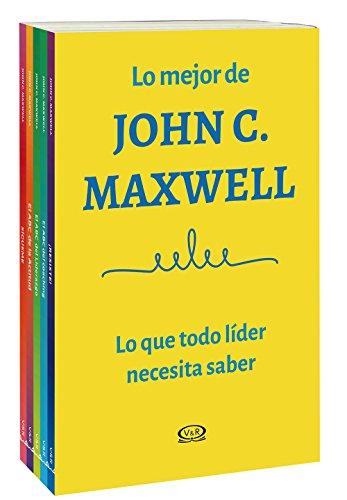 PACK LO MEJOR DE JONH C. MAXWELL