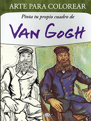 ARTE PARA COLOREAR. VAN GOGH