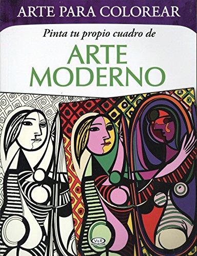 9789876129008: Pinta tu propio cuadro de Arte Moderno (Mandalas) (Spanish Edition)