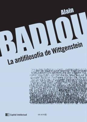 9789876144063: Antifilosofia De Wittgenstein La