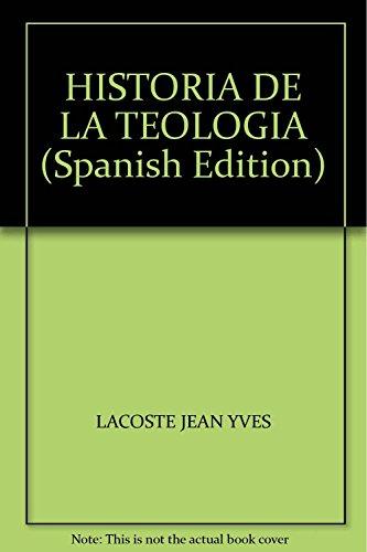9789876281324: HISTORIA DE LA TEOLOGIA