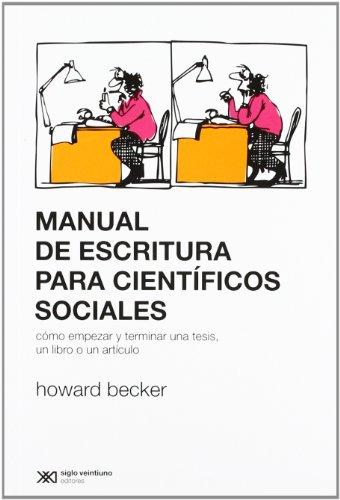 MANUAL DE ESCRITURA PARA CIENTIFICOS SOC (Paperback): Howard Becker