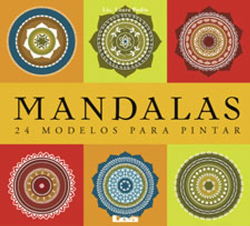 9789876341943: Mandalas-24 modelos para pintar (Spanish Edition)