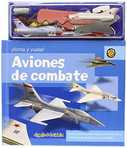 9789876684866: Aviones de Combate / Combat Aircraft (Recrearte) (Spanish Edition)