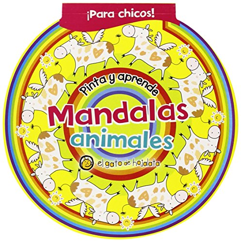 9789876688765: Pinta y aprende con mandalas / Paint and learn with mandalas: Animales / Animals (Spanish Edition)